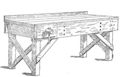 Free garage workbench plans floor plans for Build your own garage plans free